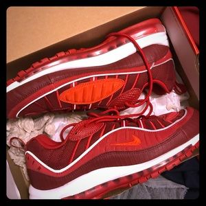 Nike Shoes   Air Max 98 Triple Red
